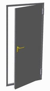 двери металлические не утеплённые